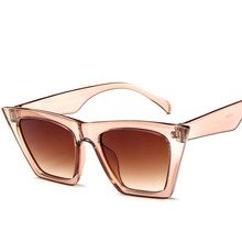 RBROVO 2020 Plastic Vintage Luxury Sunglasses Women Candy Color Lens Glasses Classic Retro Outdoor Travel Lentes De Sol Mujer cheap CN(Origin) Wrap Adult Anti-Reflective UV400 42mm Acrylic Sunglasses GD5154 Eyewear 52mm Round face Long face Square face Oval shape face