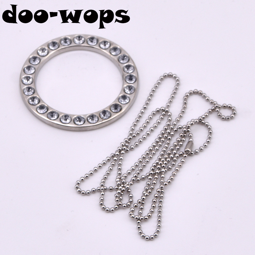 1pc Jewelry Infinity Ring Chain Magic Tricks Linking Ring Magia Magician Close Up Accessories Gimmick Props Mentalism Comedy