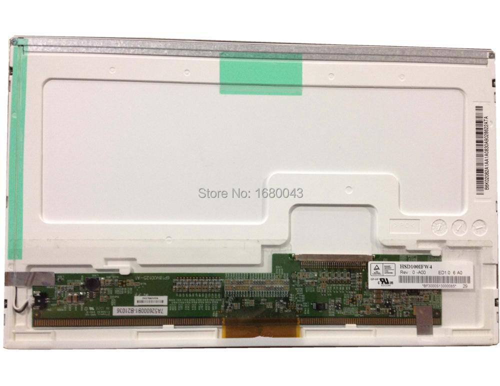 HSD100IFW4 A00 HSD100IFW1 30pin LCD LED Écran Panneau pour Asus Eee PC 1011CX 1000 H 1005 P 1005PE 1001 1001 P 1005PE 1005PED 1025C