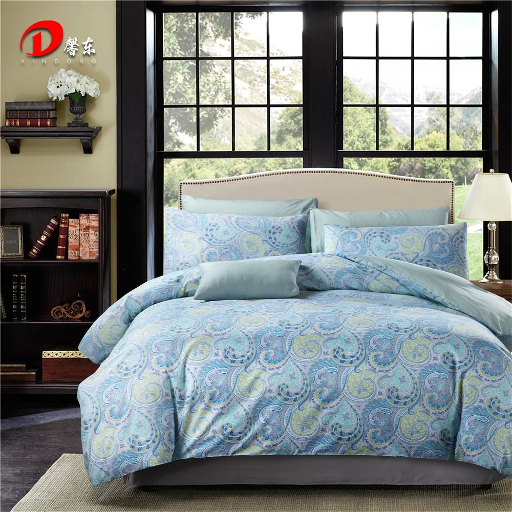 Nice Cold Color Luxury Satin Bedding Set Egyptian Cotton King Queen Size Bed Set  High Quality Bed Linen 4pcs Noble Duvet Cover Set In Bedding Sets From Home  ...