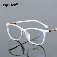 width 138 Full frame plate elastic legs fashion men women myopia optical glasses frames reading glass 008 oculos de grau eyewear