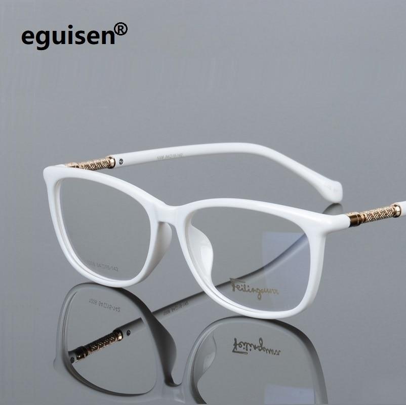 width-138 Vollrandplatte Elastische Beine Mode Männer Frauen Myopie Optische Brillengestelle Lesebrille 008 oculos de grau eyewear
