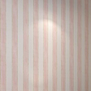 Pink Cartoon Striped Girls Bedroom Wallpaper Kids papel de parede infantil papel de parede infantil de menina стикеры для стен 2015 papel de parede infantil shb127