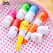 6X lovely creative ball pen cute cartoon pupils stationery kawaii Carry school Office supplies  Give your child a gift of study