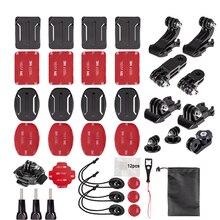 Action Camera Accessories for GoPro Hero6 5 Black, Hero 5,4,3,2,1 APEMAN,SJCAM for Xiaomi Yi Xiao mi Yi2 4K цена в Москве и Питере