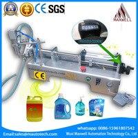Single Head Liquid Filling Machine 0 500ml