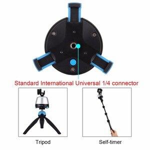 Image 4 - PULUZ Elettronico Rotazione di 360 Gradi Testa Panoramica Treppiedi con il Regolatore A Distanza di Rotazione Testa della Vaschetta Per Gli Smartphone, GoPro, DSLR