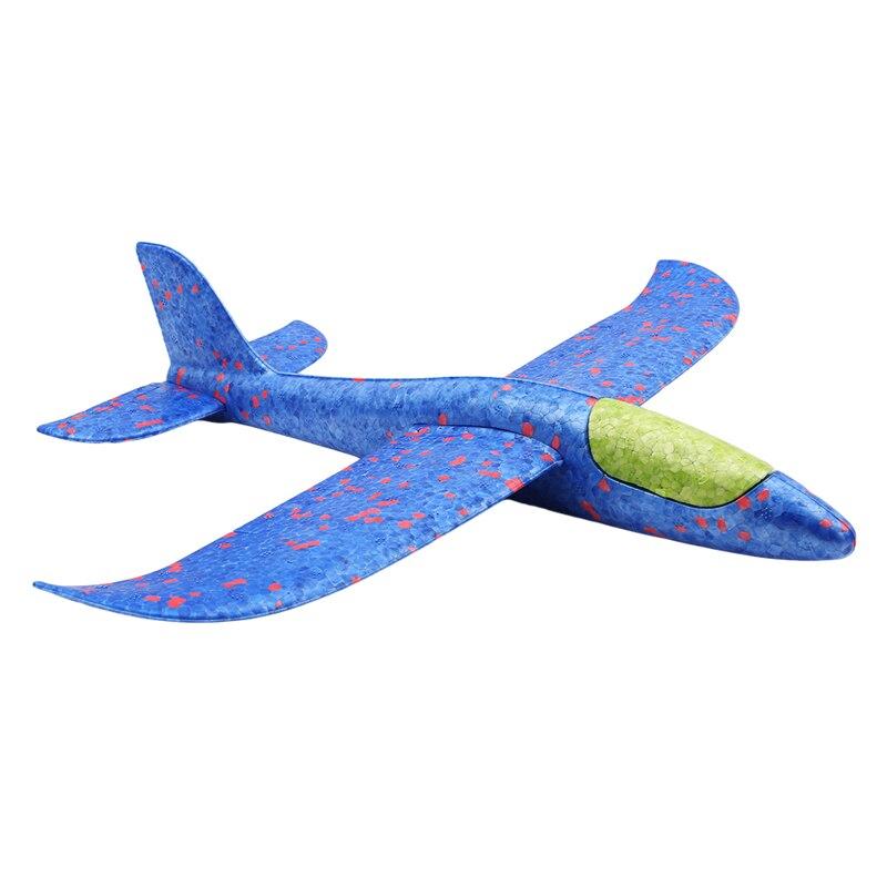 Ручной запуск, забрасывающий планерный самолет, инерционный пенопласт, Игрушечная модель самолета из ЭВА, для спорта на открытом воздухе