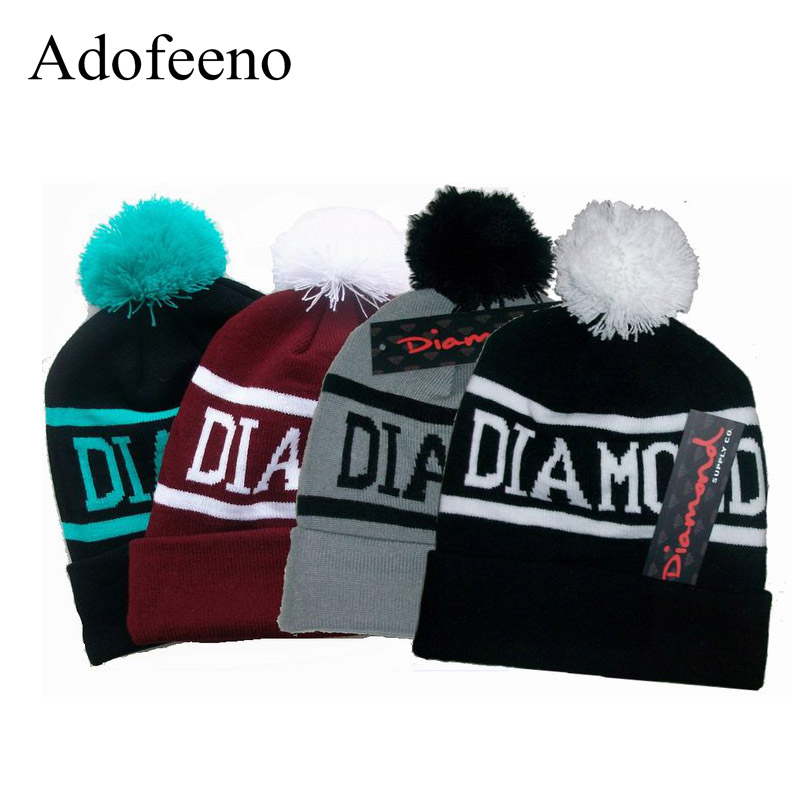 Adofeeno Hip Hop Skullies Beanies for Men or Women Accessories Knit Cotton Cap Hats for Women skullies