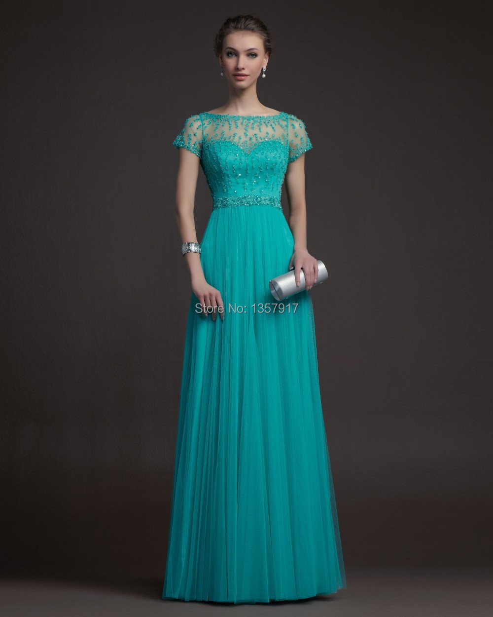 Compare Prices on Teal Gowns Women- Online Shopping/Buy Low Price ...