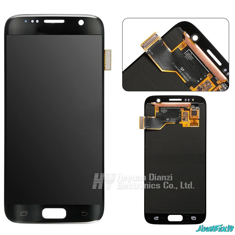Super AMOLED For Samsung Galaxy S7 G930F G930fd Burn in shadow Lcd Display With Touch Screen