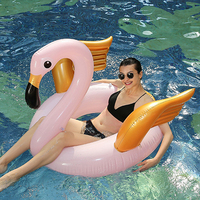 Beach chair Inflatable Flamingo Unicorn Pool Floats Tube Raft Swimming Ring Circle Water thickening PVC mount Outdoor chair
