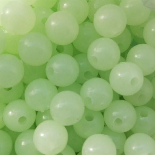100PCS 4mm 6mm 8mm 10mm 12mm 14mm 16mm Night Luminous Beads Round Resin Spacer Beads For Jewelry Making,Fishing Tools wholesale green color 5000 crystal glass beads loose round stones spacer for jewelry garment 4mm 6mm 8mm 10mm