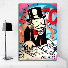 Monopolyingly Man Canvas Posters Prints Wall Art Painting Decorative Picture Modern Home Decoration Accessories Artwork