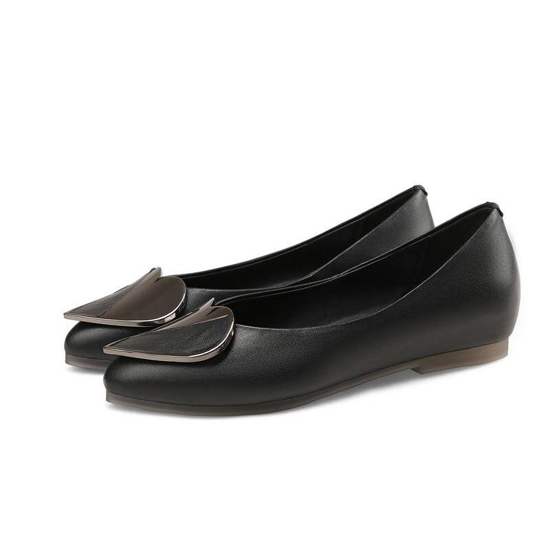 Chaussures Mariage Amour Vache Femmes noir Métal Femme Mocassins En Nemaone Zapatos Mujer Beige bleu Appartements 100 Cuir D'été De 4PEFFOq