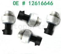 4pcs Free Shipping for Chevrolet Silverado Oil Pressure Regulator Sensor Switch For Buick Cadillac Pontiac GMC Hummer 12616646 Pressure Sensor    -