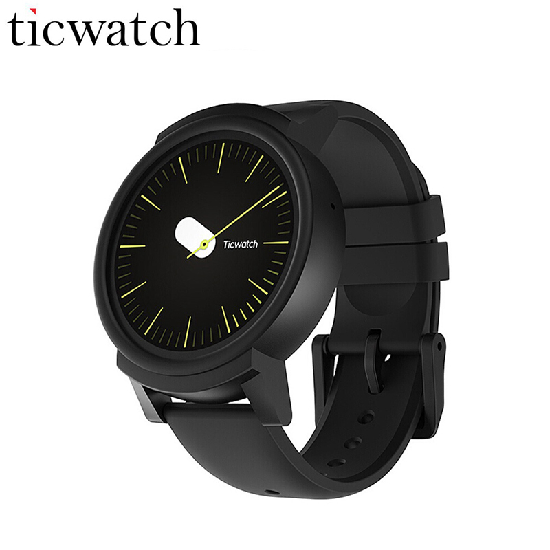 Original Ticwatch E Expres Smart Watch Android Wear OS MT2601 Dual Core IP67 Waterproof Bluetooth 4.1 WIFI GPS Smartwatch Phone зебра зебра кроссовки синие