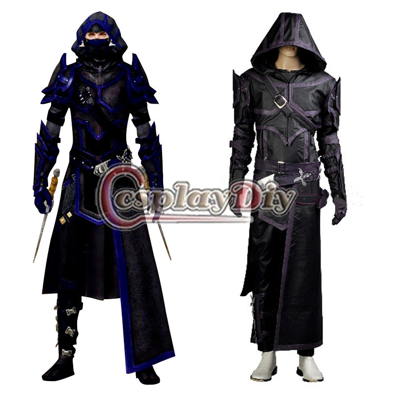 Cosplaydiy Guild Wars 2 Thief Cosplay Costume Version 01 For