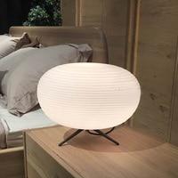 Простые современные лампы личности спальня лампа творческая гостиная кабинет свет настольные лампы LU8221900