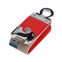 Mosunx новый красный USB 3.0 32 ГБ Бизнес кожа флэш-накопитель Memory Stick u-диск 17nov30 дропшиппинг F