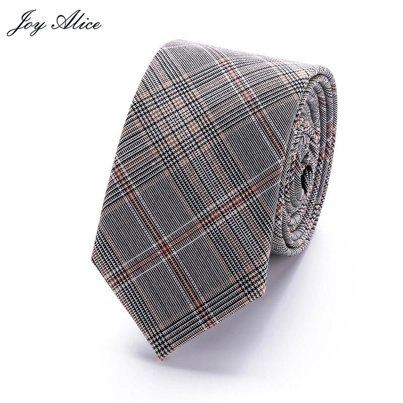 Women Tie Classic Mens Plaid Necktie Casual Sweet Rainbow Suit Bowknots Ties Male Cotton Skinny Slim Ties Colourful Cravat
