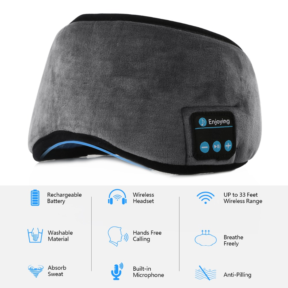 Sleeplux™ Sleep Headphones - Wireless Bluetooth Sleep Mask 1