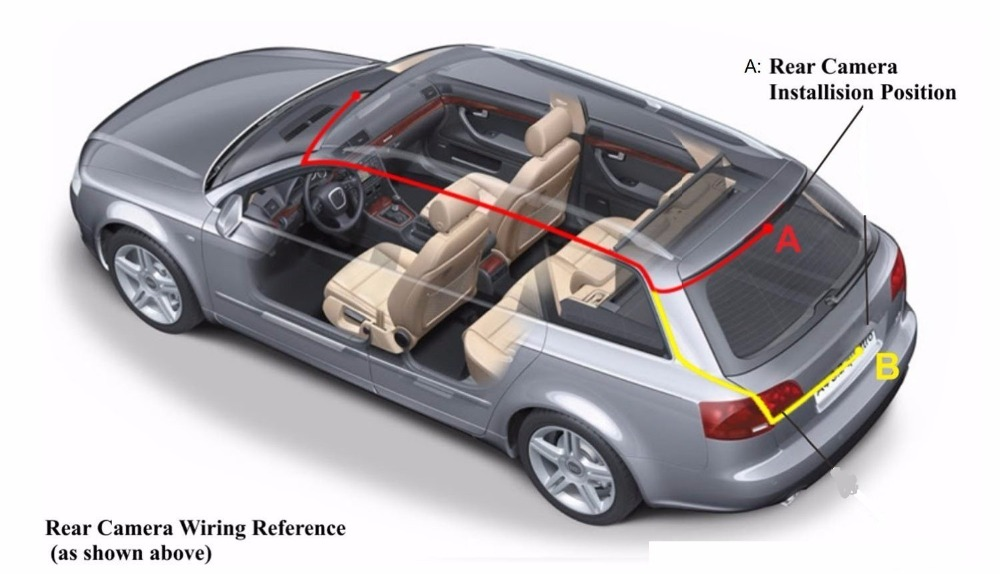 Rexing V1P, Yüksək keyfiyyət, Tam HD 1080P Arxa Kamera, Avtomobil - Avtomobil elektronikası - Fotoqrafiya 5