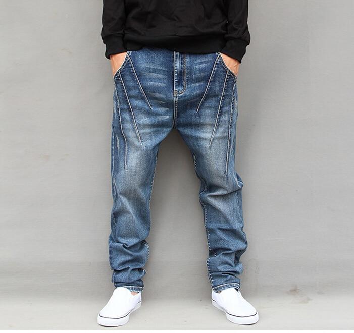 men's new big size jeans new designer denim trousers fashion men straight jeans good quality JH251