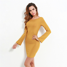 LOGAMI 2018 Spring Summer Bodycon Sexy Womens Clothing Bandage Party Club Dress Mini Backless Butterfly Stitching Dress