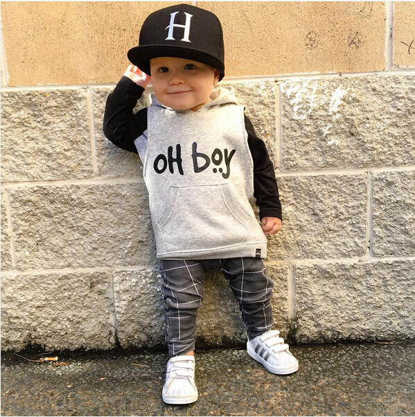Suits Pants Sweater Long-Sleeve Baby-Boy-Girls Winter Casual Girl 2pcs OH Boys New