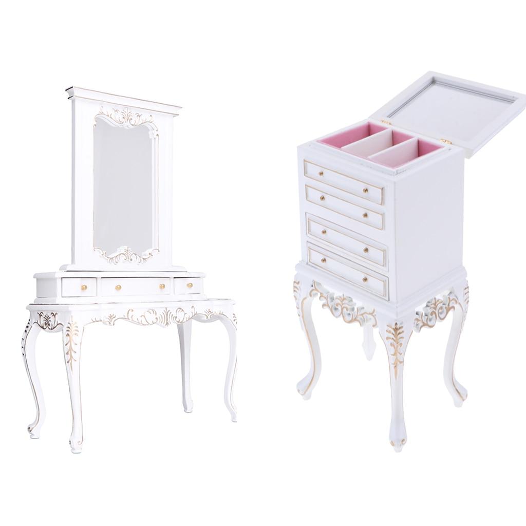Европейский Стиль 1/6 комода Шкаф для Барби горячие игрушки Фигурки Спальня мебель аксессуары