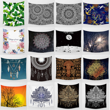 Hot sale many styles mandala large wall hanging tapestry home decoration tapiz pared L  200*150cm M 150*130cm