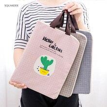 Креативная ручная сумка из парусины, простой дизайн, стильные сумки-карандаши на молнии, сумки для девочек, сумки для студентов, держатель для канцелярских принадлежностей, Сумка для документов