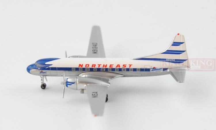 northeast cv 240 n91240 1 400 aeroclassics commercial jetliners plane model hobby