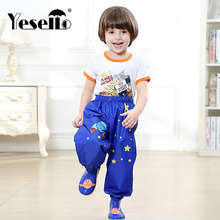 Korean Style Children's Rain Pants Boys And Girls Students Baby Waterproof Pants Can Be Equipped With Raincoats