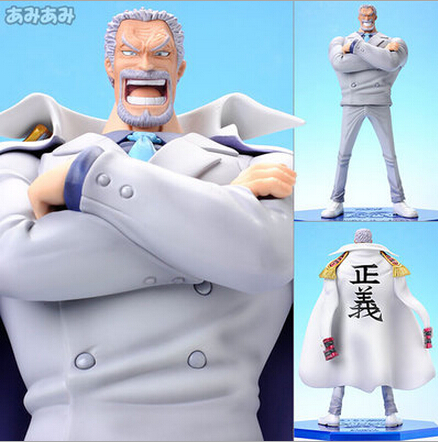 NEW hot 23cm One piece Monkey D Garp action figure toys collection Christmas gift doll no box new hot 23cm the frost archer ashe vayne action figure toys collection doll christmas gift with box