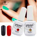 Saviland 1pcs Long Lasting Soak Off 15ml UV Nail Gel Varnishes Lacquer Vernis Semi Permanent Nail Glue Gelpolish