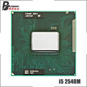 Image 1 - Intel Core i5 2540M i5 2540M SR044 2,6 GHz Dual Core Quad Gewinde CPU Prozessor 3M 35W Sockel G2/rPGA988B