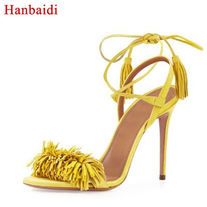 4ee8e8302a75 Hanbaidi-Summer-sandals-women-kid-suede-red-blue-yellow-thin-high-heels -fringe-tassel-high-quality.jpg