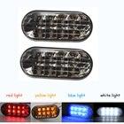 Amber Smoke Side Marker Turn Light 8 LED For VW Volkswagen Golf Jetta Passat Bora MK4 GTI / R32/ Beetle 4 Colors light Running