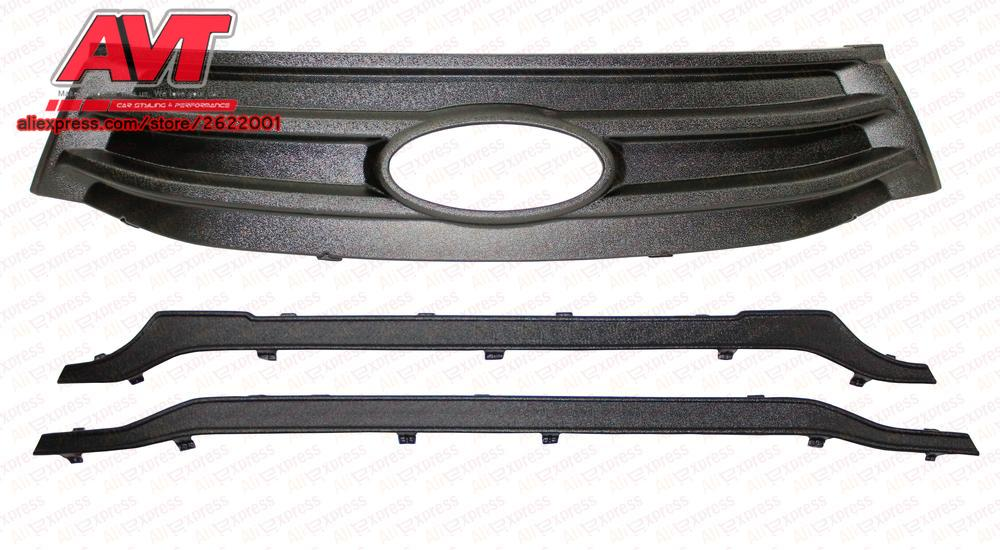 Winter radiator and front bumper caps for Lada X-Ray 2015- car styling decoration protection bumper canines molding