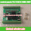 1 шт. 51 панели промышленного управления PLC FX1N2N 20MR 20MT STC12C5A60S2/СКМ учя доску для Mitsubishi PLC панель управления PLC