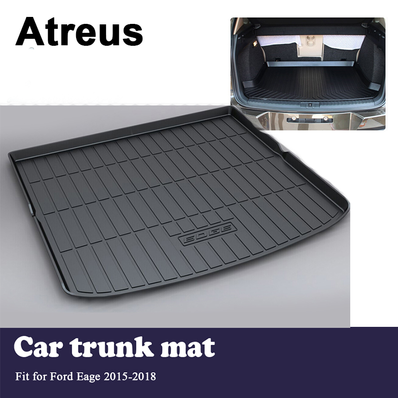 Atreus Car Trunk Cargo Floor Liner Tray Mat Cover Protection Blanket For Ford Edge