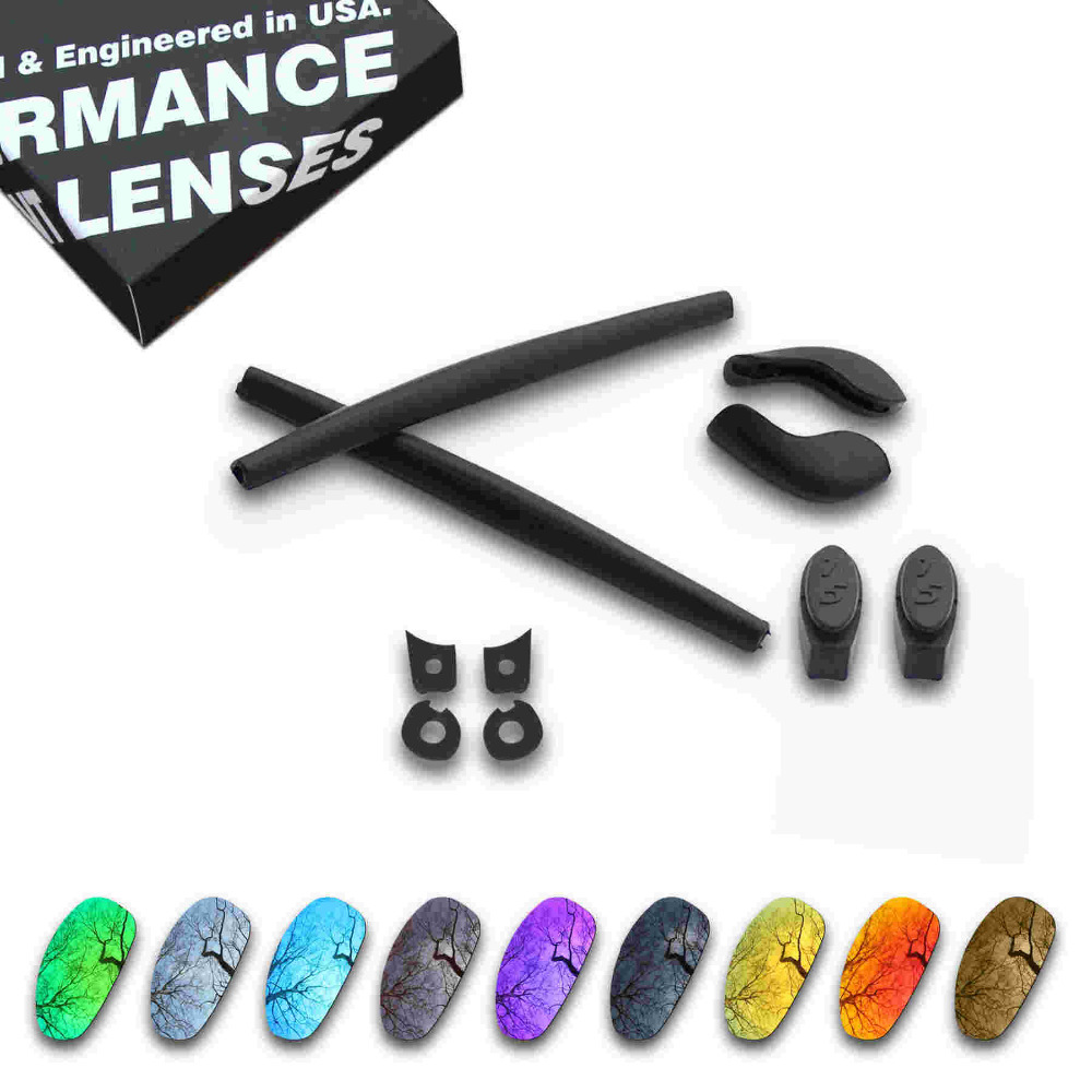 ToughAsNails Resist Seawater Corrosion Polarized Replacement Lens&Black Rubber Kit for Oakley juliet - Multiple Options