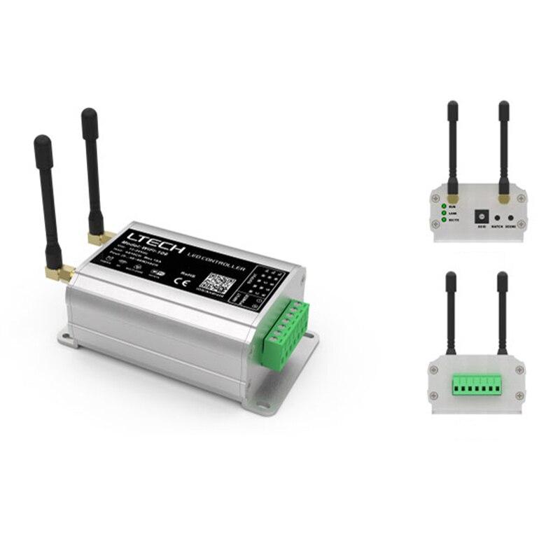 Nova WiFi 106 LED wifi controlador com RF remoto F12; 2.4GHz Receptor Sem Fio, sistema de Controle de painel de toque RGB Levou Iluminação de tira - 3