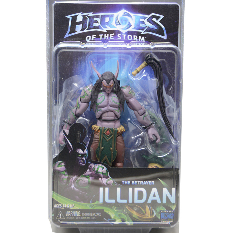 LEGION Illidan heroes of the storm PVC Action Figure Collectible Model Toy 7 18cm KT1816 neca heroes of the storm dominion ghost nova pvc action figure collectible model toy 15cm