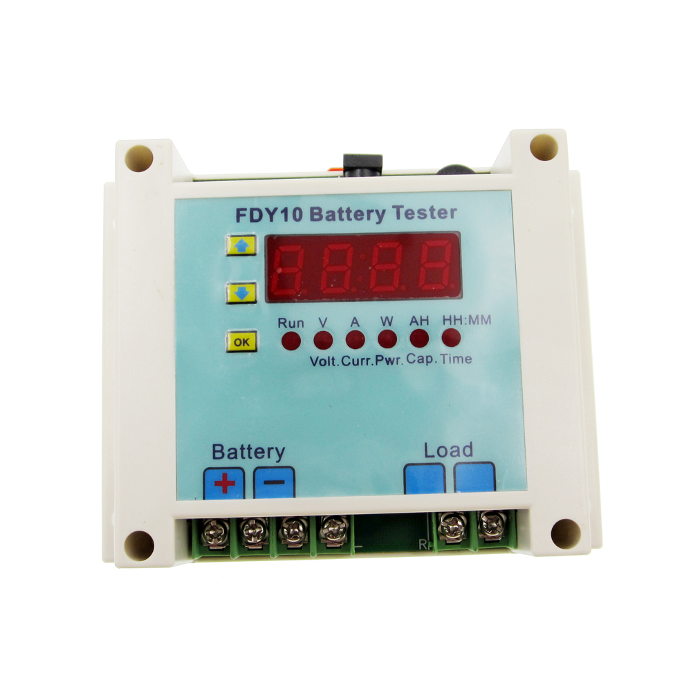 FDY10-S Battery Tester can detect the capacity of the battery, also can measure the discharge time and discharge of the battery ebc a40l high current battery capacity tester battery line graph battery tester battery testing 20acharge 40a discharge