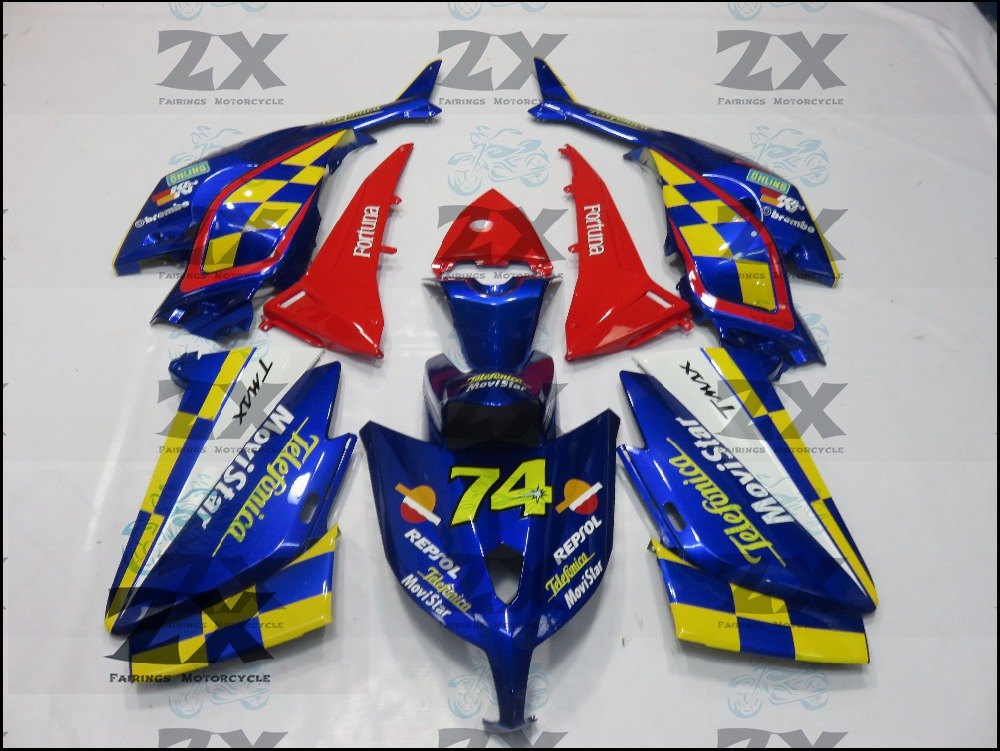 Fairings For Yamaha TMAX 530 12 13 14T-Max ABS Plastic Kit Injection Motorcycle Fairing  Kit tmax530  TMAX530 good