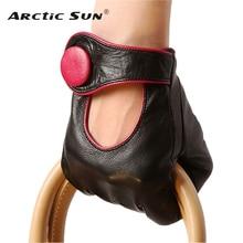 販売ファッション女性シープスキン手袋 2020 New 本革ハイヒールの品質エレガントな女性 5 本の指駆動グローブ EL028NN