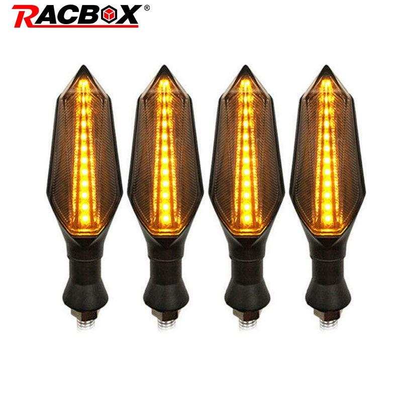 2pcs/4pcs Led Motorcycle Turn Signal Brake Lamp Indicator Light Flasher Blinker For Kawasaki Z1000 Z900 Z800 Ninja 650 250r Z400